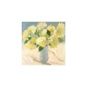 "Portfolio Canvas Decor ""White Linen"" Painting Print on Wrapped Canvas"