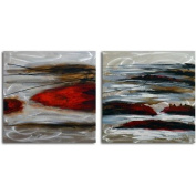 Omax Decor 'High Tide' 2 Piece Painting on Canvas Set