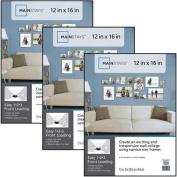 Mainstays 30cm x 41cm Format Frame, Set of 3