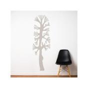Combtree Wall Decal - Warm Grey
