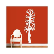 Combtree Wall Decal - White