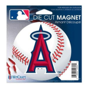Los Angeles Angels Official MLB 11cm x 15cm Car Magnet by Wincraft