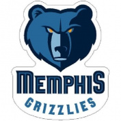 Memphis Grizzlies Official NBA 6.4cm Acrylic Magnet by Wincraft