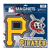 Pittsburgh Pirates Official 28cm x 28cm Car Magnet by Wincraft 18928014