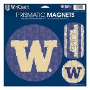 Washington Huskies Official NCAA 28cm x 28cm Car Magnet by Wincraft