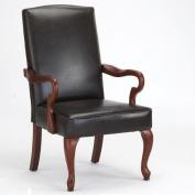 Comfort Pointe Derby Arm Chair in Dark Brown