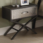 Woodbridge Home Designs Spaced Out 1 Drawer Nightstand