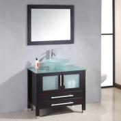 Cambridge Plumbing Amethyst 90cm Single Bathroom Vanity Set with Mirror