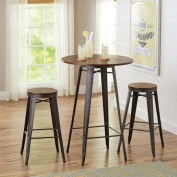 Better Homes and Gardens Harper 3-Piece Pub Set, Multiple Colours