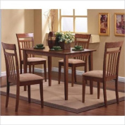 Oakdale Nutmeg 5pc Dinette Set