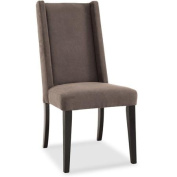 DHI Sienna Tall Wingback Upholstered Dining Chair