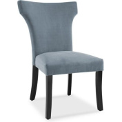 DHI Florence Upholstered Wing Back Dining Chair, Multiple Colours