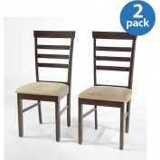 Havana Dining Chairs, Set of 2, Espresso