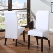 Modus Furniture Cosmo Leather Parson Chair