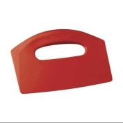 REMCO 69604 Bench Scraper,Poly,Red,22cm x 13cm