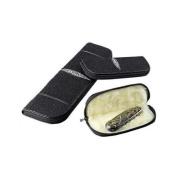 Adam Unlimited Stingray Knife Zipper Case, Black, Small SRKZCBKS
