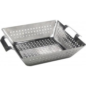 Bull Outdoor Products Stainless Steel Square Wok