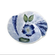 Hand Painted Blue Sky Design Small Serving Bowl
