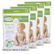 Summer Infant Keep Me Clean Disposable Nappy Sacks - 300 Count