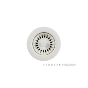Houzer 190-9561 8.9cm Opening White Disposal Flange