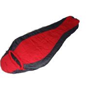 Mummy Sanford 0-Degree Left-Opening Adult Sleeping Bag, Red