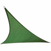 California Sun Shade Shade Sail 3.7m Triangle, Heritage Green