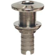 Groco HTH-500 Bronze Thru-Hull Fitting W/ Nut 1.3cm Hose