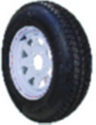 Loadstar ST Radial Tyre and Wheel (Rim) Assembly ST175/80R-13 5 Hole C Ply