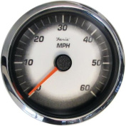 Faria Digital Black Fade 10cm Gauge, Speedometer, 60 MPH/100 KPH, MG1000