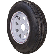 Loadstar ST Radial Tyre and Wheel (Rim) Assembly ST225/75R-15 6 Hole D Ply