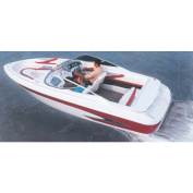 Carver Styled-to-Fit Cover for V-Hull Runabouts with Inboards, Haze Grey
