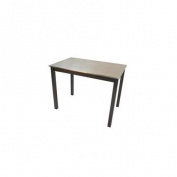 Carolina Cottage CF2242B Carter Stainless Steel Top Bar Table - Black