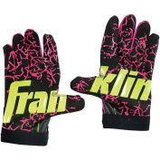 Franklin Sports Youth Insanity Batting Glove, Black, Pink and Yellow