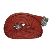 armoured TEXTILES Attack Line Fire Hose,Red,15m L, G50H25RR50N