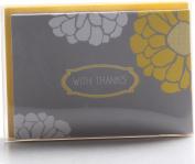 Hortense B. Hewitt Sunny Flowers Thank You Cards