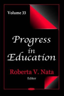Progress in Education: Volume 33