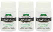 Bragg's Charcoal Tablets Triple Pack 3 x 100