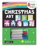 Glitter Christmas Art