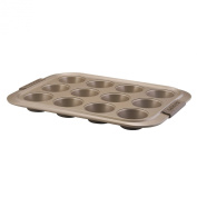 Anolon Advanced Bronze Nonstick Bakeware 12-Cup Muffin and Cupcake Pan
