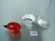 5.9cm Mini pie pan 90ml Foil Utility Cup pie pan tart pan 100/PK