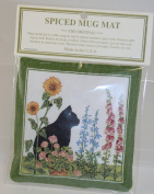 Alice's Cottage Single Spiced Mug Mat - New Cat