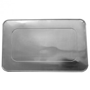 Durable Packaging Aluminium Foil Lids for Aluminium Steam Table Pans, Fits Full-Size Pans (1 Bags of 10) by A World of Deals®