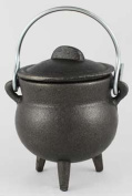 Plain Cast Iron Cauldron 7.6cm *