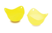 Fusionbrands® PoachPod® Silicone Egg Poacher - Yellow