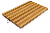 Bamboo Premium Wood Kitchen Cutting Board- Eco-friendly Strong Thick Chopping Board