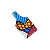 Romero Britto Cutting Board-Heart