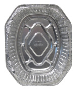 Durable Packaging 40010 Disposable Aluminium Oval Roasting Pan, Extra Large