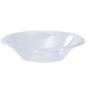 Hanna K. Signature Collection 100 Count Plastic Bowl, 350ml, Clear