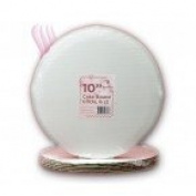 Cake Board Circle 25cm , Count of 6