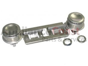 WB16K10026AP - Top Dual Double Gas Burner for Stove/Oven by Appli Parts